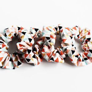 Accessories - Scrunchie ~ Modern Geometric Tribal Aztec